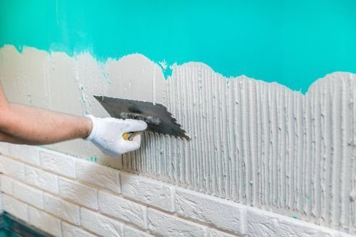 Edinburgh Tiling Adhesive Wall